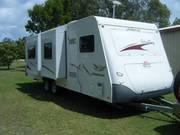 2007 JAYCO STIRLING CARAVAN