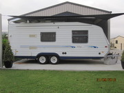 Golf 2000 Caravan 20ft,  spec. designed,  Independent 4 Wheel Suspension