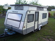ADVANCE POPTOP CARAVAN 16FT