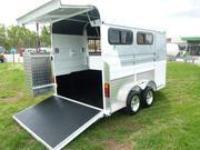 Dual Angled Customised Horse Float