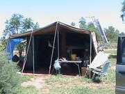 Heavy Duty Off Road Camper Trailer