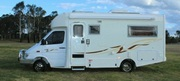 Mercedes Winnebago 2005 motorhome Freewind