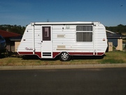 Roadstar Caravan vacationer Poptop clean tidy unit in good condition