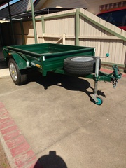 Box Trailer 6x4 for sale